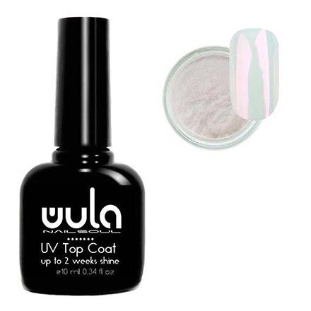 Купить WULA Nailsoul, Набор для дизайна «Топ и жемчужная втирка №03»