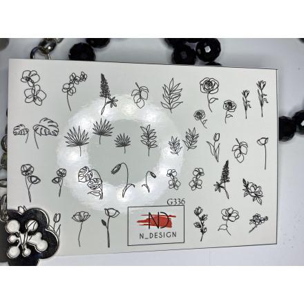 Купить N-DESIGN, Слайдер-дизайн G-336, Plants