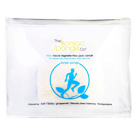 Купить The Konjac Sponge Company, Спонж Sports Konjac Sponge Blue