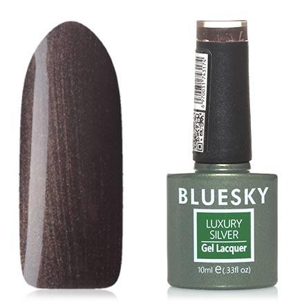 Купить Bluesky, Гель-лак Luxury Silver №646, Коричневый