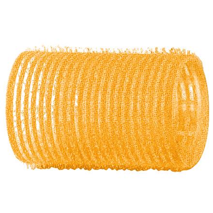 Dewal, Бигуди-липучки, желтые, 32 мм фото