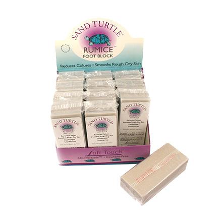 Купить SoftTouch, Блок для удаления мозолей Rumice Sand Turtle, 80/80, Soft Touch