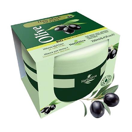 HerbOlive, Маска для волос с оливковым маслом, 250 мл фото