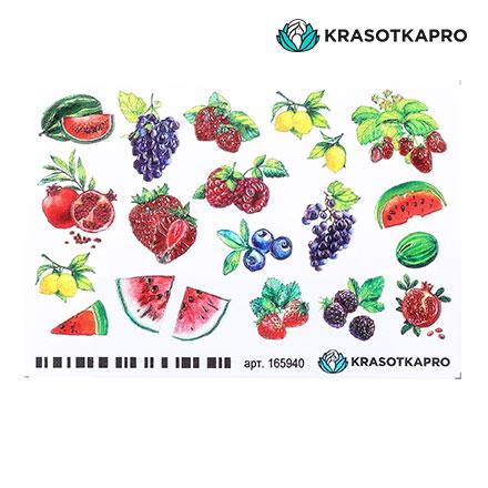 Купить KrasotkaPro, 3D-слайдер Crystal №165940 «Фрукты. Ягоды»