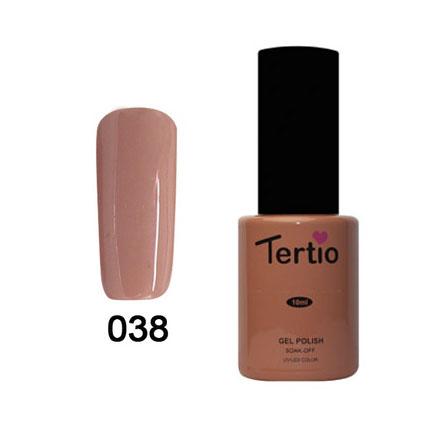 Tertio, Гель-лак Eco Line №38
