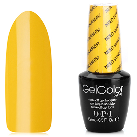 OPI GelColor, Гель-лак Need Sunglasses B46 opi gelcolor гель лак i sea you wear opi gca73