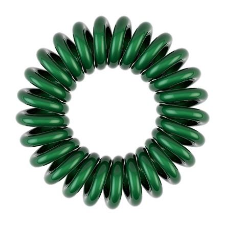 Invisibobble, Резинка для волос C U Later Alligator (3 шт.), изумрудная