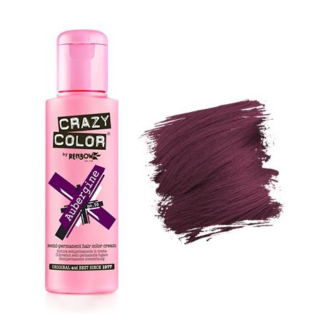 Crazy Color, Краска для волос №50, AubergineКраска для волос<br>Цвет: баклажановый. Объем: 100 мл.