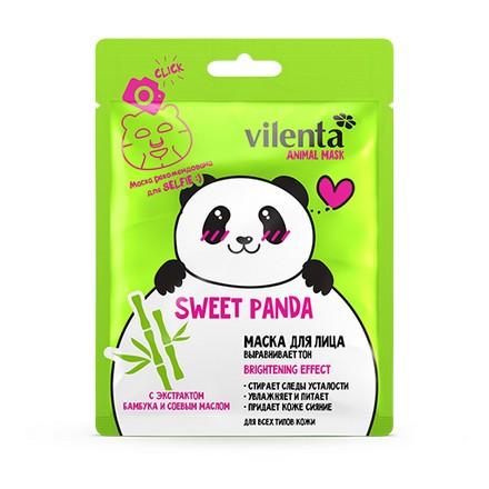 Купить Vilenta, Тканевая маска для лица Sweet Panda, 28 мл