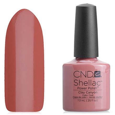 CND, цвет Clay Canyon cnd лосьон для рук и тела яблоко и корица cnd scentsations lotion apple and cinnamon 14129 245 мл
