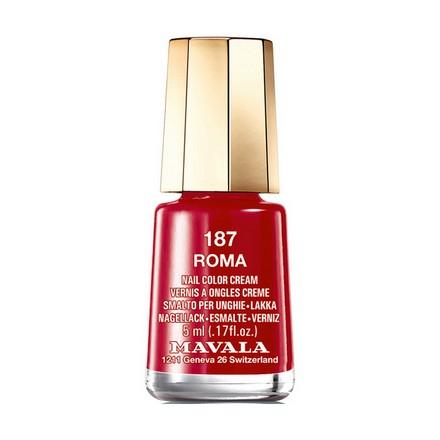 Купить Mavala, Лак для ногтей №187, Roma, Красный