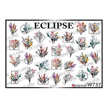 Купить Eclipse, Слайдер-дизайн для ногтей W №737