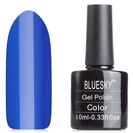 Bluesky, Гель-лак A24Bluesky Шеллак<br>Гель-лак (10 мл) чернильно-синий, без блесток и перламутра, плотный.<br><br>Цвет: Синий<br>Объем мл: 10.00