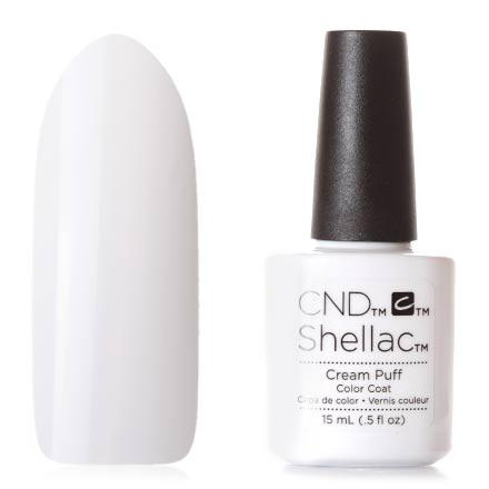 CND, цвет Cream Puff, 15 мл cnd топ top coat xpress5 15 мл