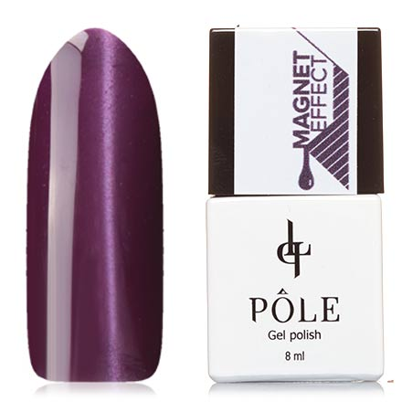 POLE, Гель-лак №56, Фиолетовый блеск