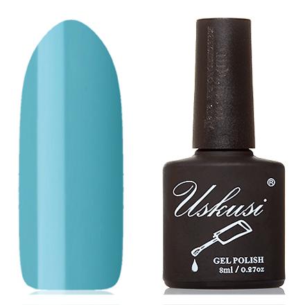 Uskusi, Гель-лак №035Uskusi<br>Гель-лак (8 мл) небесно-голубой, без перламутра и блесток, плотный.<br><br>Цвет: Синий<br>Объем мл: 8.00