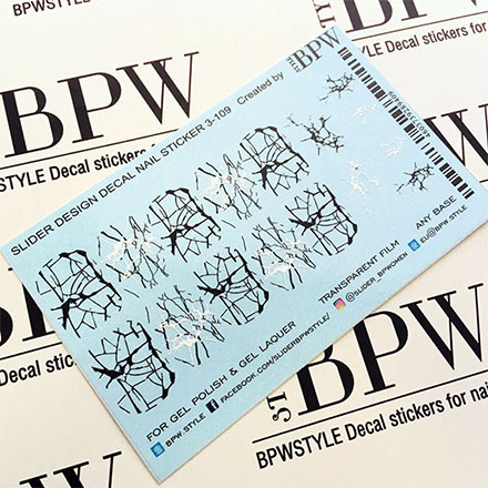 Купить BPW.Style, Слайдер-дизайн «Паутинка» №3-109