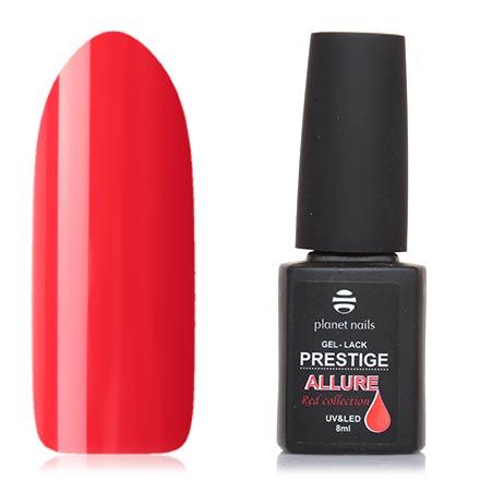 Planet Nails, Гель-лак Prestige Allure №648Planet Nails<br>Гель-лак (8 мл) яркий оранжево-красный, без перламутра и блесток, плотный.<br><br>Цвет: Красный<br>Объем мл: 8.00