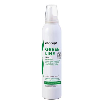Купить Сoncept, Мусс для волос и кожи Green Line, восстанавливающий, 250 мл, Concept