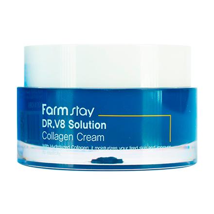 FarmStay, Крем для лица DR.V8 Solution Collagen, 50 мл