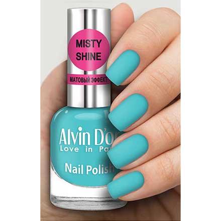 Купить Alvin D`or, Лак Misty shine №545, Alvin D'or, Голубой