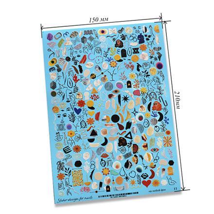 Купить Anna Tkacheva, Cлайдер-дизайн на белый фон №WW11 «Абстракция»