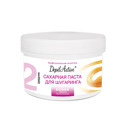 Domix, Сахарная паста DepilActive, средняя, 650 г