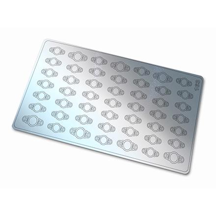 Купить Freedecor, Металлизированные наклейки №163, серебро
