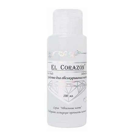 El Corazon, дезинфектор, 100 млДезинфекторы для ногтей<br>Средство для обезжиривания ногтей.
