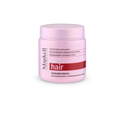 Markell, Бальзам-маска для укрепления и стимуляции роста волос Professional, 500 мл