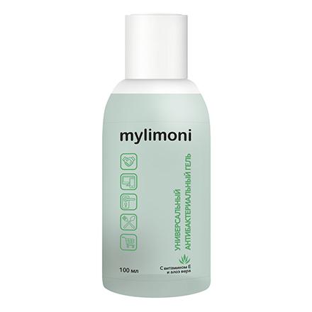 Купить LIMONI, Антибактериальный гель для рук Mylimoni, с алоэ вера, 100 мл