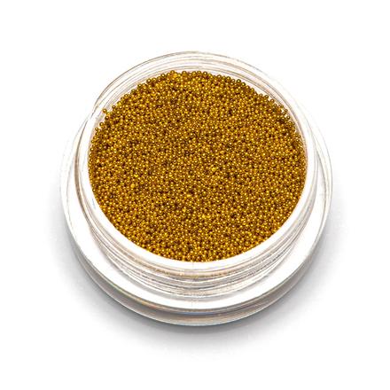 TNL, Бульонки супермелкие, золото, 0,4 мм