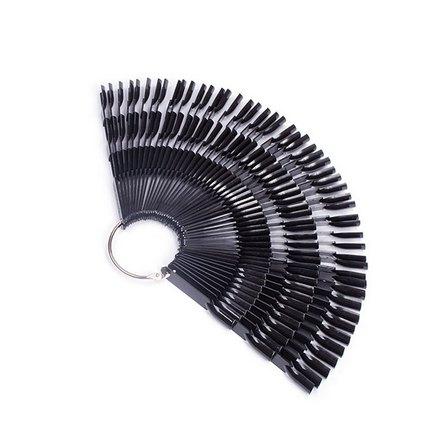 Купить TNL, Палитра «Веер» на 150 цветов, черная, TNL Professional