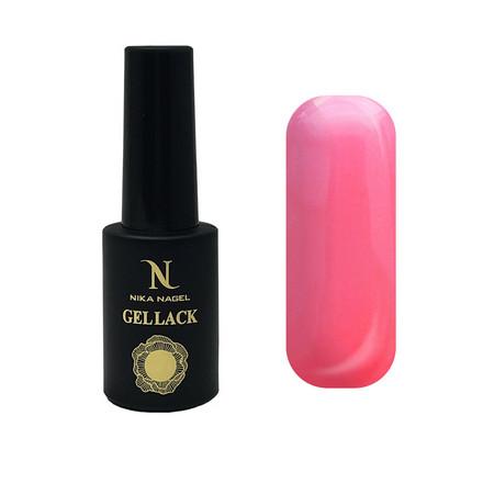 Купить Nika Nagel, Гель-лак Koroleva №87, Розовый