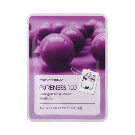 Купить Tony Moly, Маска для лица Pureness 100 Collagen Mask Sheet