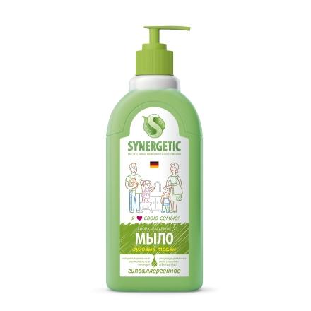 Купить Synergetic, Жидкое мыло «Луговые травы», 500 мл