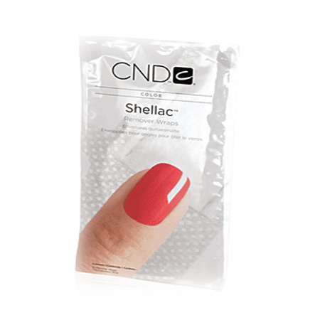 CND Shellac, Замотка Remover Wraps, 10 шт.