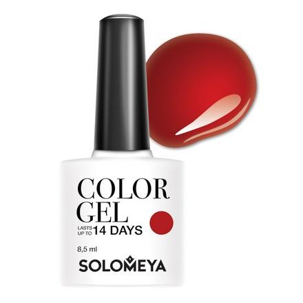 Купить Solomeya, Гель-лак №82, Verona, Wella Professionals, Красный
