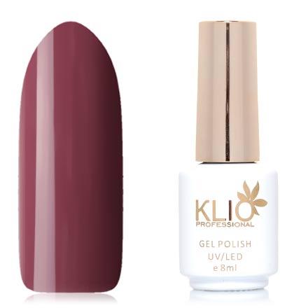 Klio Professional, Гель-лак Total Perfection, №65Klio Professional<br>Гель-лак (8 мл) бордово-коричневый, без перламутра и блесток, плотный.<br><br>Цвет: Коричневый<br>Объем мл: 8.00