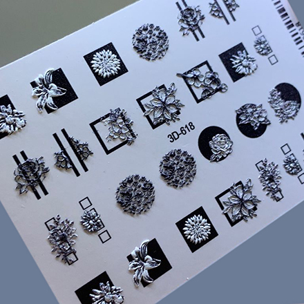 AnnaTkacheva,3D-слайдер№618 «Цветы. Геометрия» фото