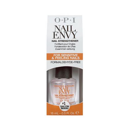 Купить OPI, Средство для укрепления ногтей Nail Envy Sensitive & Peeling, 15 мл