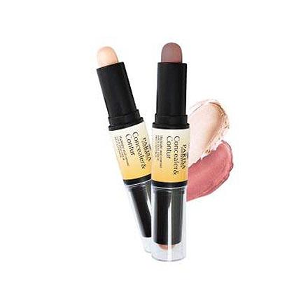 PARISA Cosmetics, Двойной карандаш для контурирования, тон 02 фото