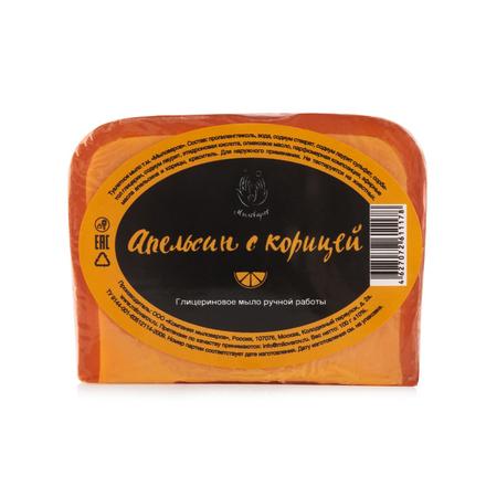Купить Мыловаров, Мыло «Апельсин с корицей», 100 г