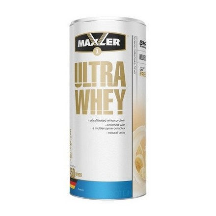 Maxler, Протеин Ultra Whey, банановый молочный коктейль, 450 г