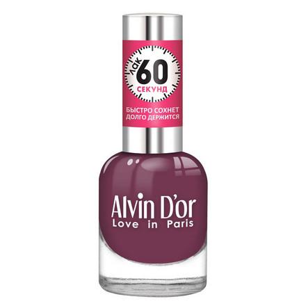 Купить Alvin D'or, Лак «60 секунд» №19, Фиолетовый