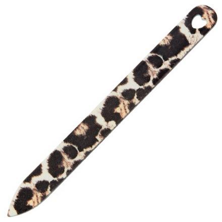 IRISK, Пилка металлическая с дизайном, леопардовая