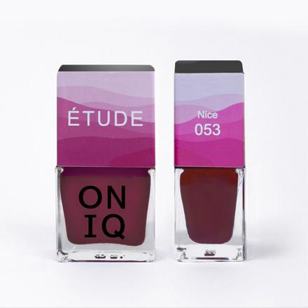 Купить ONIQ, Лак для ногтей Tryptich Etude №53, Nice, Розовый