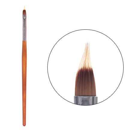 Irisk, Кисть для омбрэ с деревянной ручкойКисти для дизайна<br>Кисть для создания дизайна в стиле «омбрэ».<br>