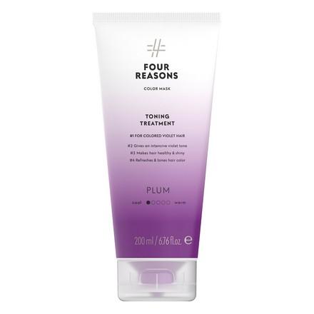 Купить Four Reasons, Маска для волос Toning Treatment Plum, 200 мл