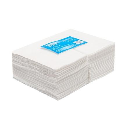 White line, Салфетки одноразовые из спанлейса 10 х10 см, 100 шт